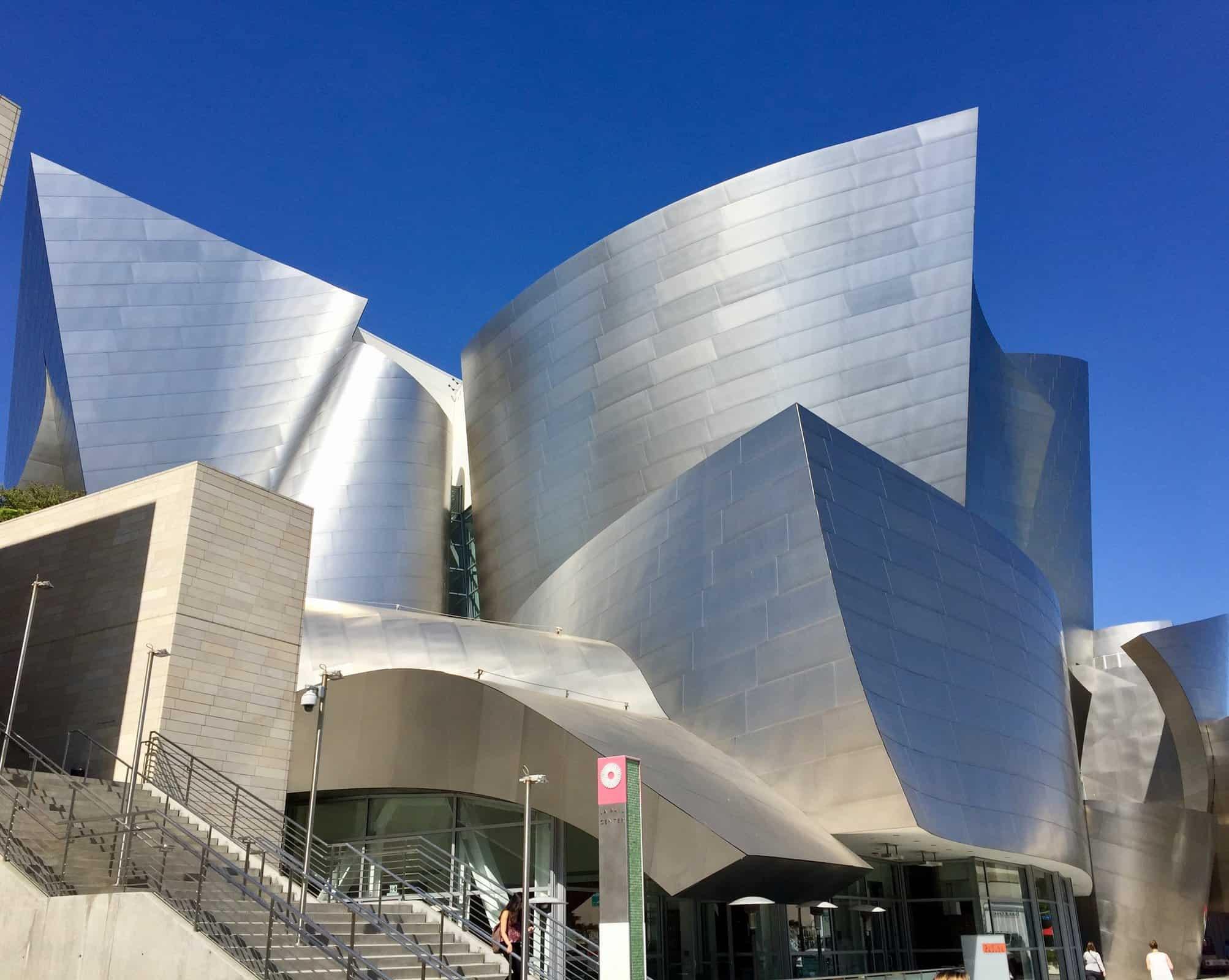 Walt Disney Concert Hall in Downtown LA